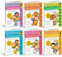 Brain Quest Workbook Grade PK through 4