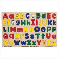 MELISSA & DOUG UPPER/LOWER CASE ALPHABET